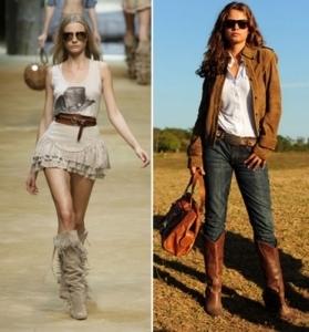 Как одеться в стиле кантри? Обзор одежды с фото