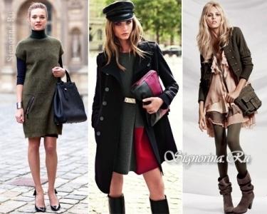 Как одеться в стиле милитари? Обзор одежды с фото