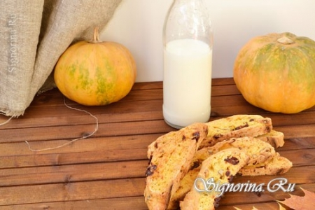 Бискотти с клюквой, орехами и тыквой: рецепт итальянского печенья с фото