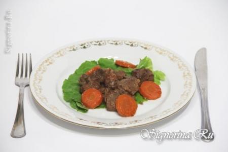 Нежный гуляш из говядины с морковью: рецепт с фото