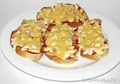 Рецепты горчих бутербродов