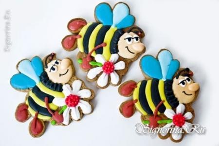 Песочное печенье с мёдом «Пчёлка»: рецепт с фото