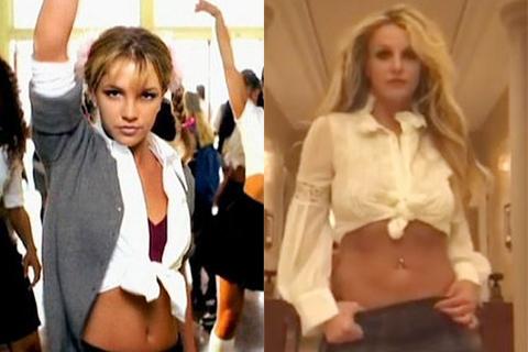 Бритни Спирс вчера устроила показ мод: видео