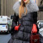 Модные женские пуховики 2018 года