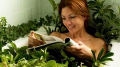 Рецепты лечебных ванн при простуде