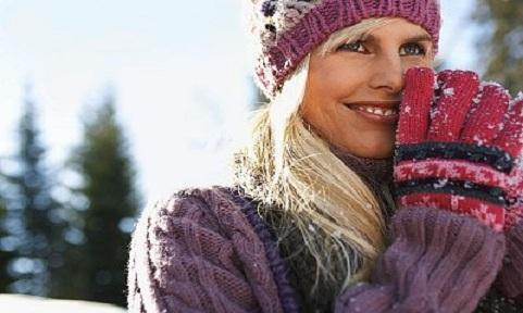 Зимние аксессуары к одежде зимой 2018 года