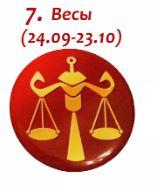 гороскоп на неделю весы
